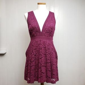 Free people Lovely In Lace Dress Sz S